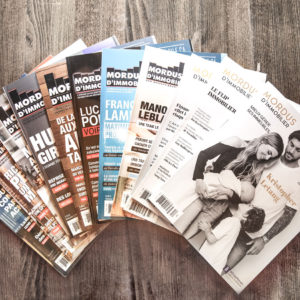 promotion magazine des mordus de décembre